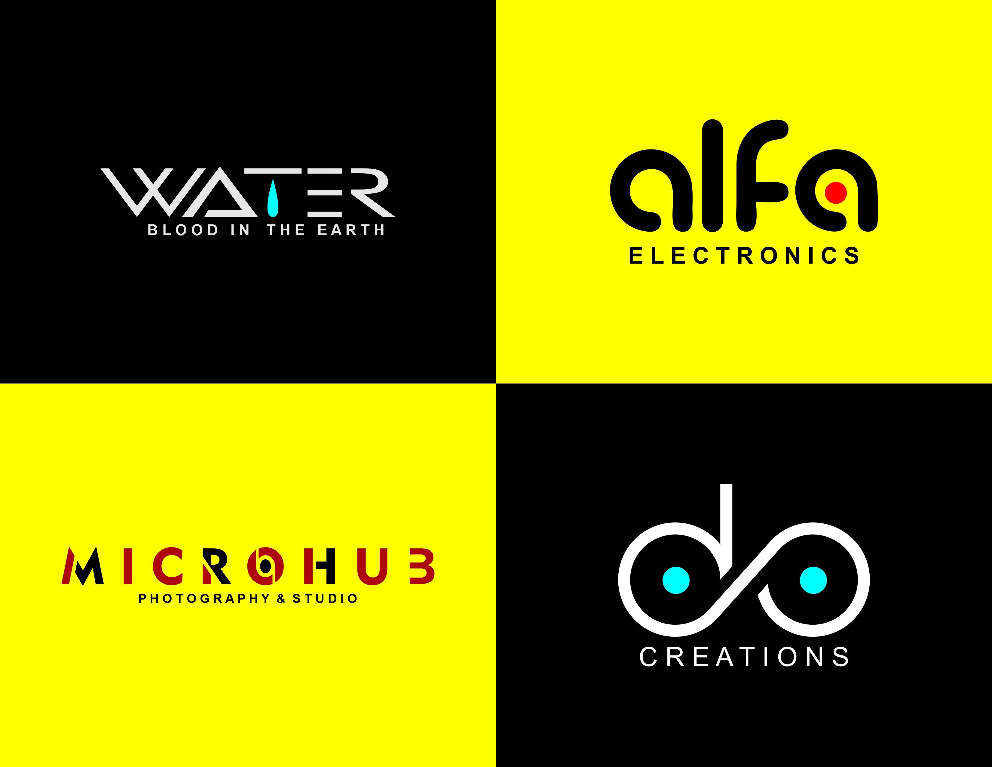 I will design minimalist business font logo design