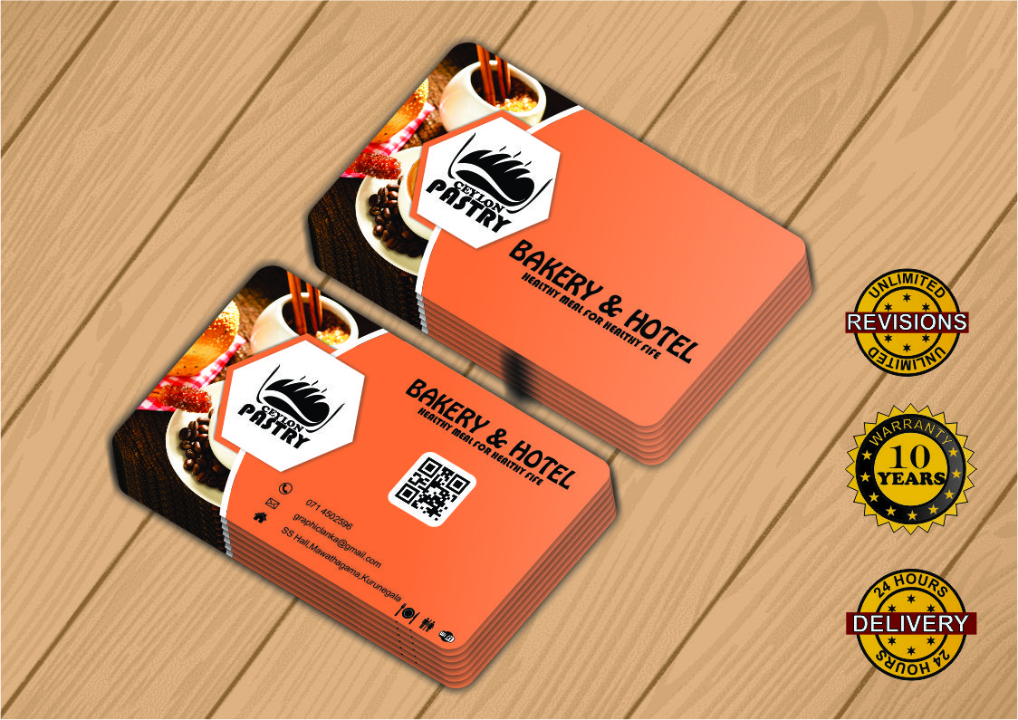 Business Card Design withing 24 hours for your business