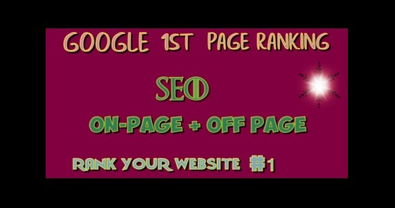 I will offer guaranteed rank for your website on google 1st page