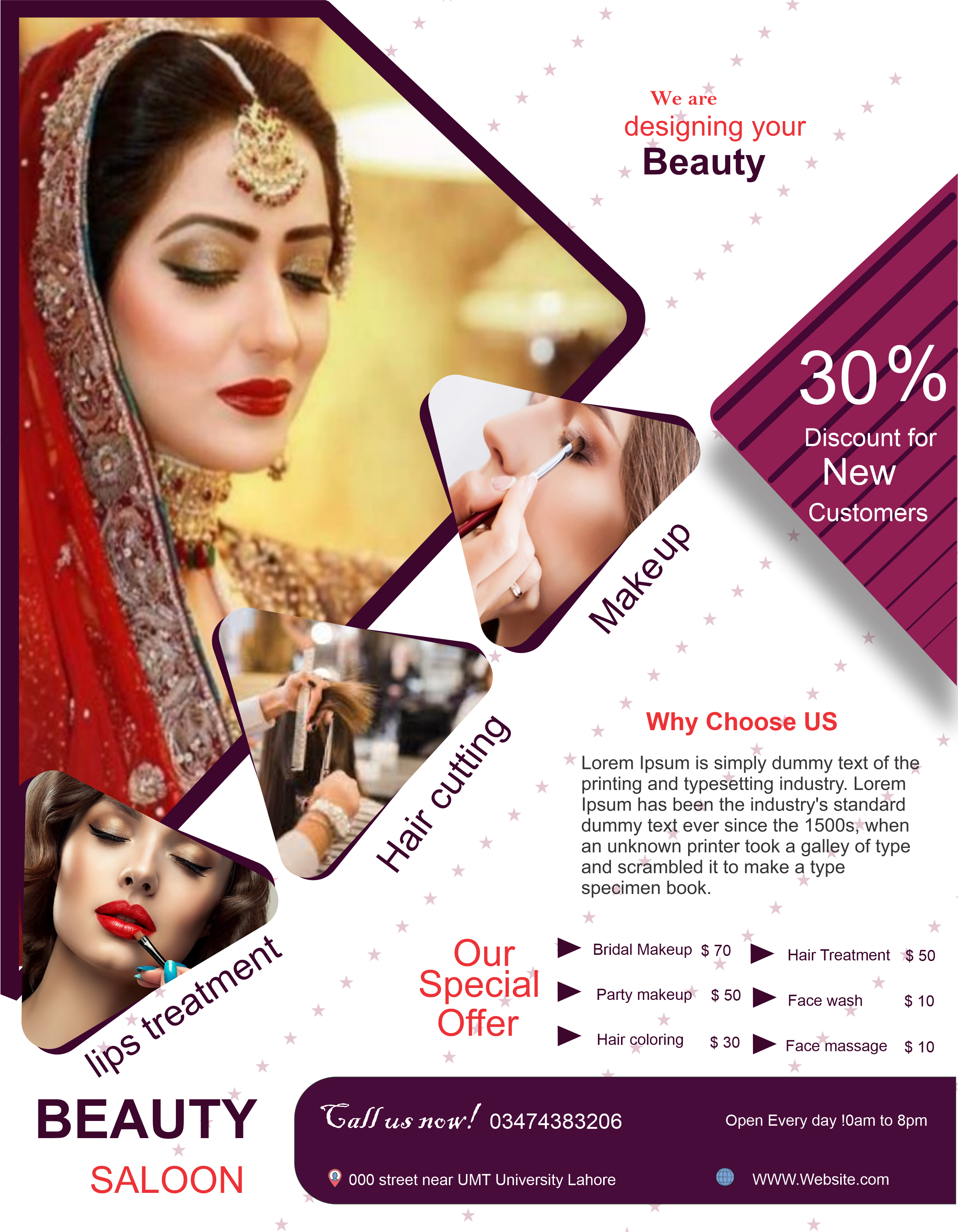 I will design flyer,  brochure,  and business card