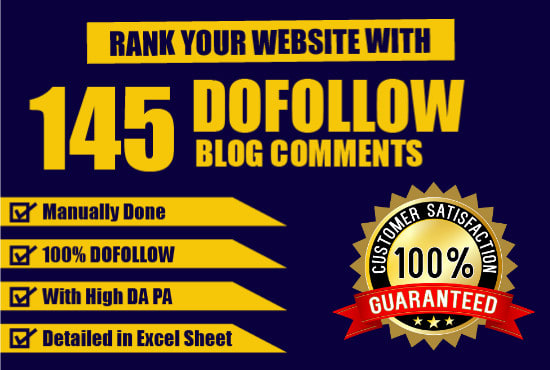 do 145 manual do follow blog comment back link with high da pa
