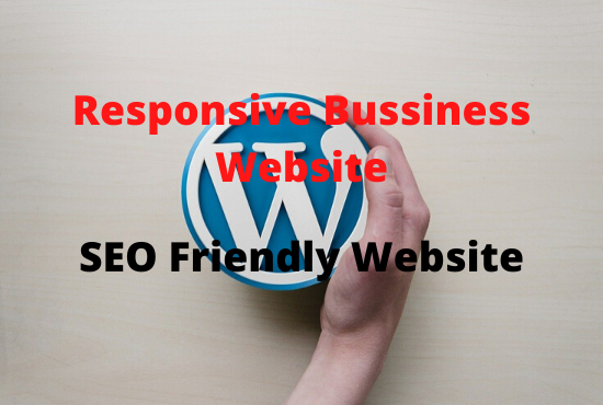 I will create responsive and SEO friendly Bussiness Website