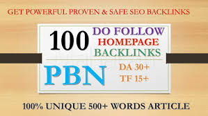 Build 100 PBN Back-link with high DA 40+ PA 30+,  DOFOLLOW with Unique website