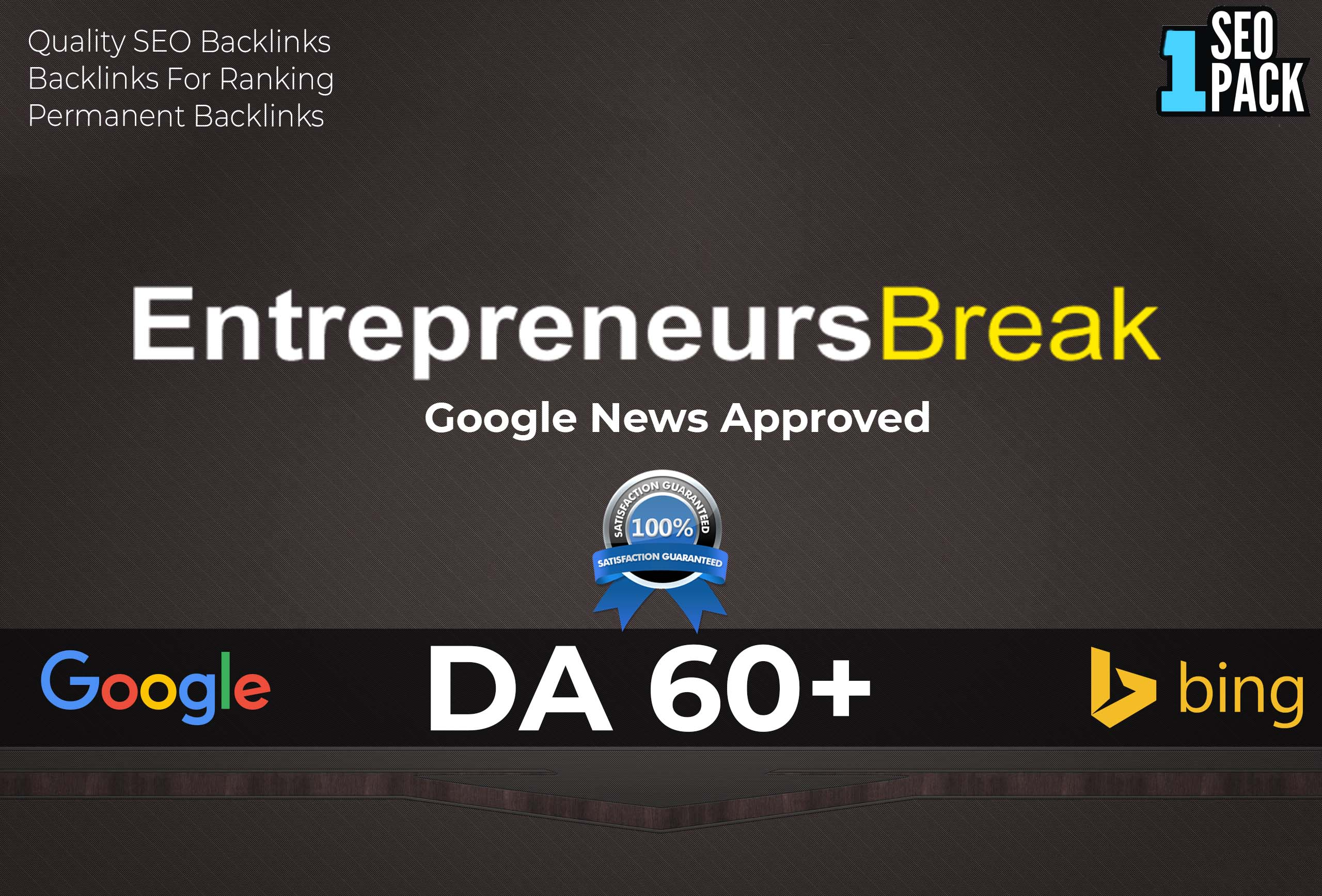 I will provide you high quality guest blogging with authority backlink on my da 60+ website