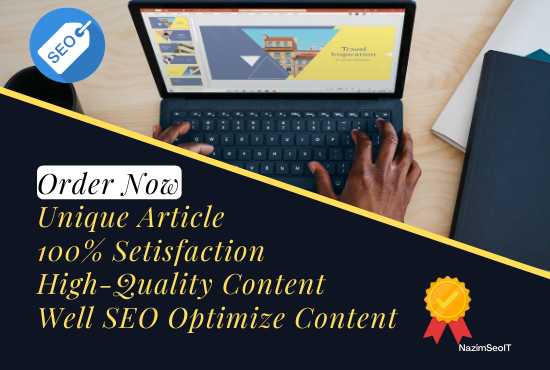 I will write 500 word unique niche related SEO optimized article, content for your business.