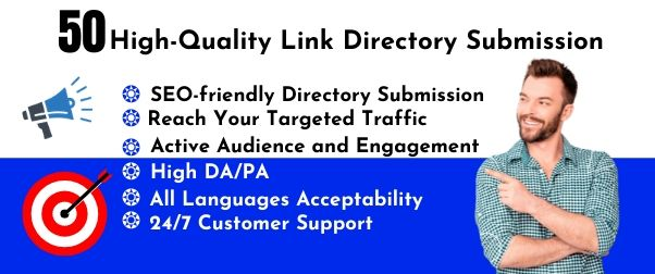 30 High Quality Directory Submission Manually Backlink to Reach Targeted Traffic