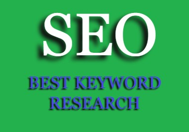 Rank your website on google first page by proper keyword research.