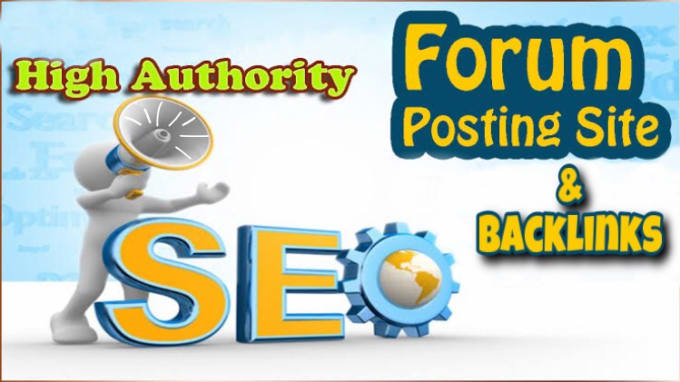 Create High Quality 110+ Forum Profile Backlinks