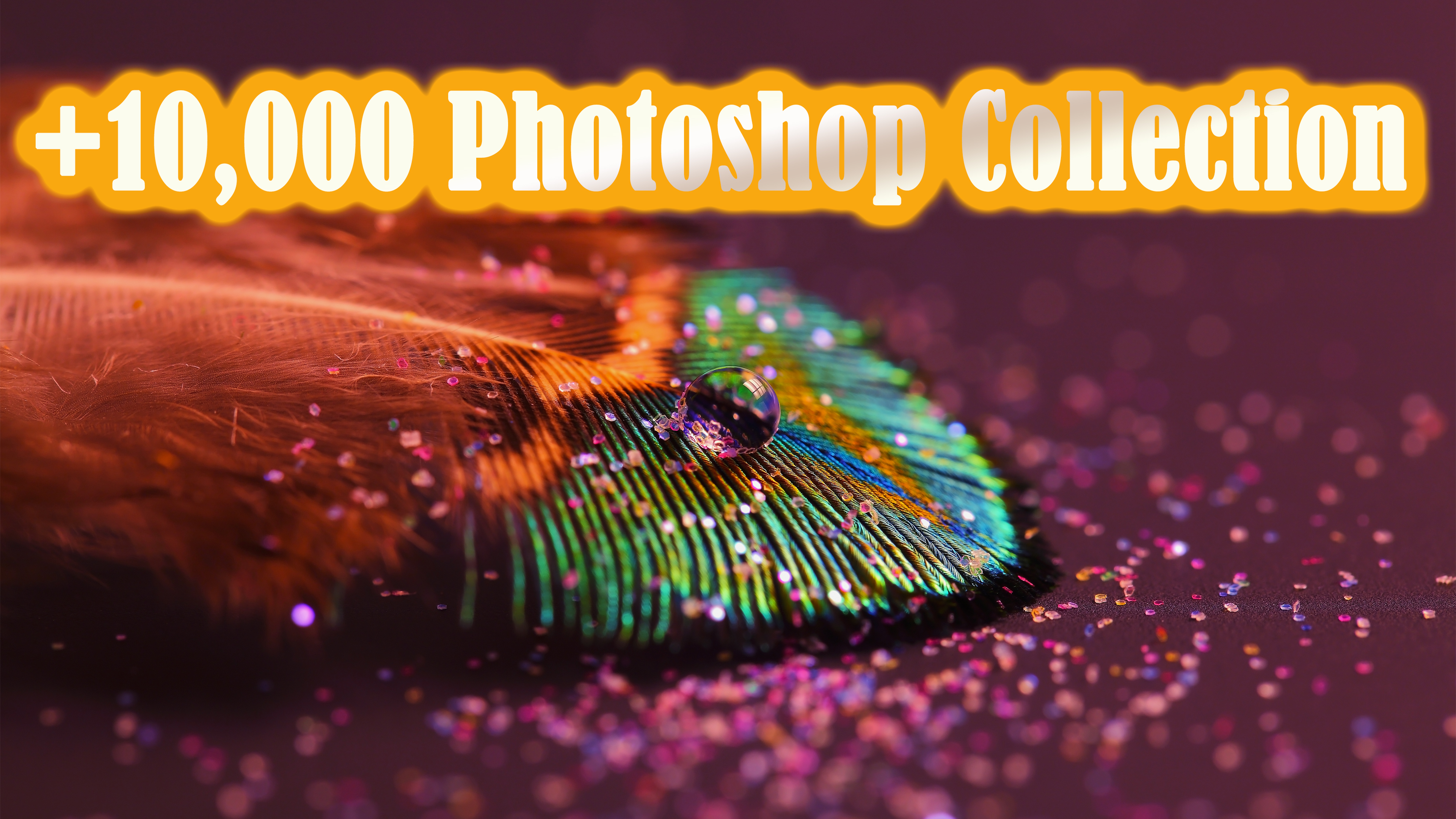 +10.000 Photoshop Collection, Gradients Vectors Brushes Shapes Styles Textures Patterns