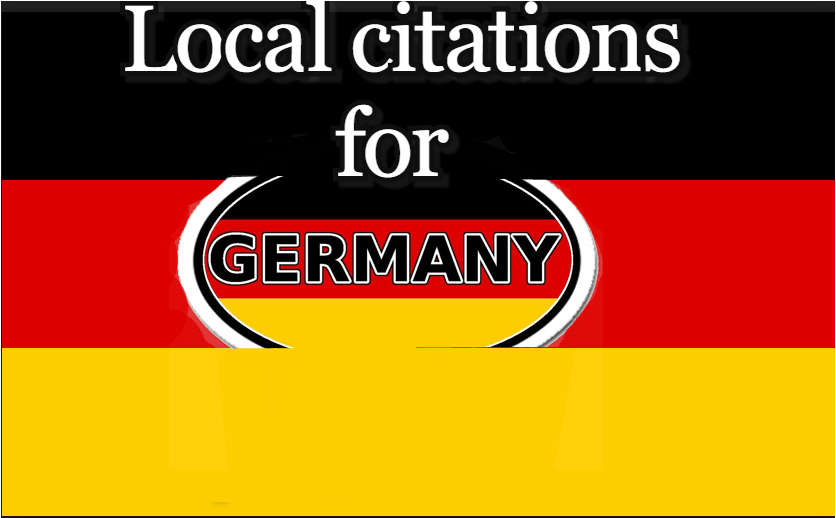 I will create 60 germany local citations