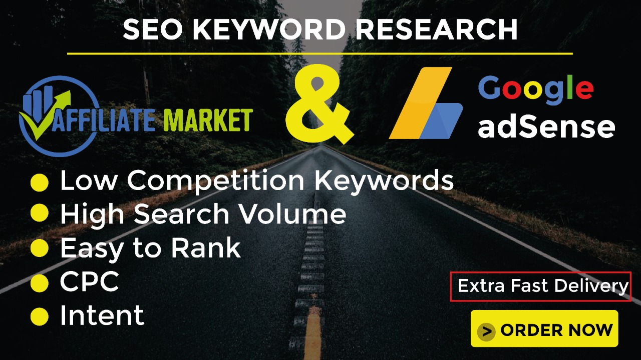 I will do SEO Keyword Research to boost ranking
