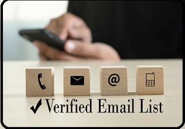 provide you 150000 real and verified usa email list