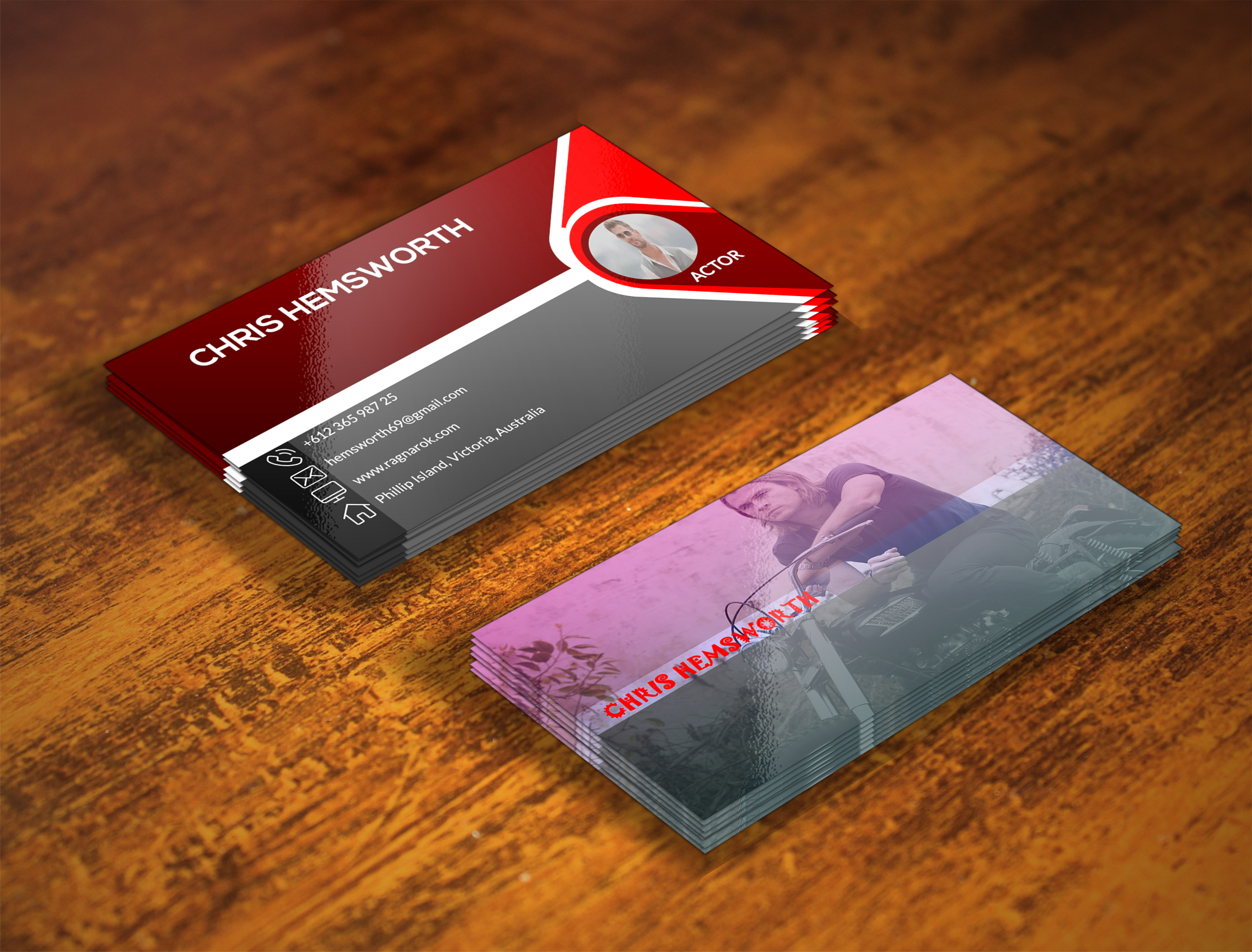 I will do professional business card design withing 24 hrs