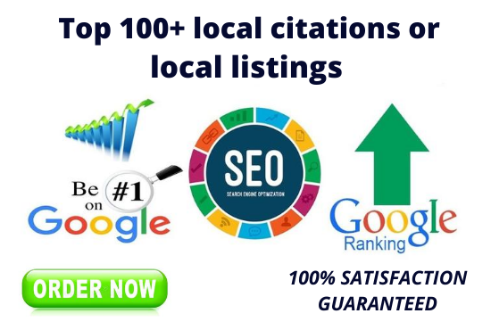 do 100+ local citations or local listings for your local business seo