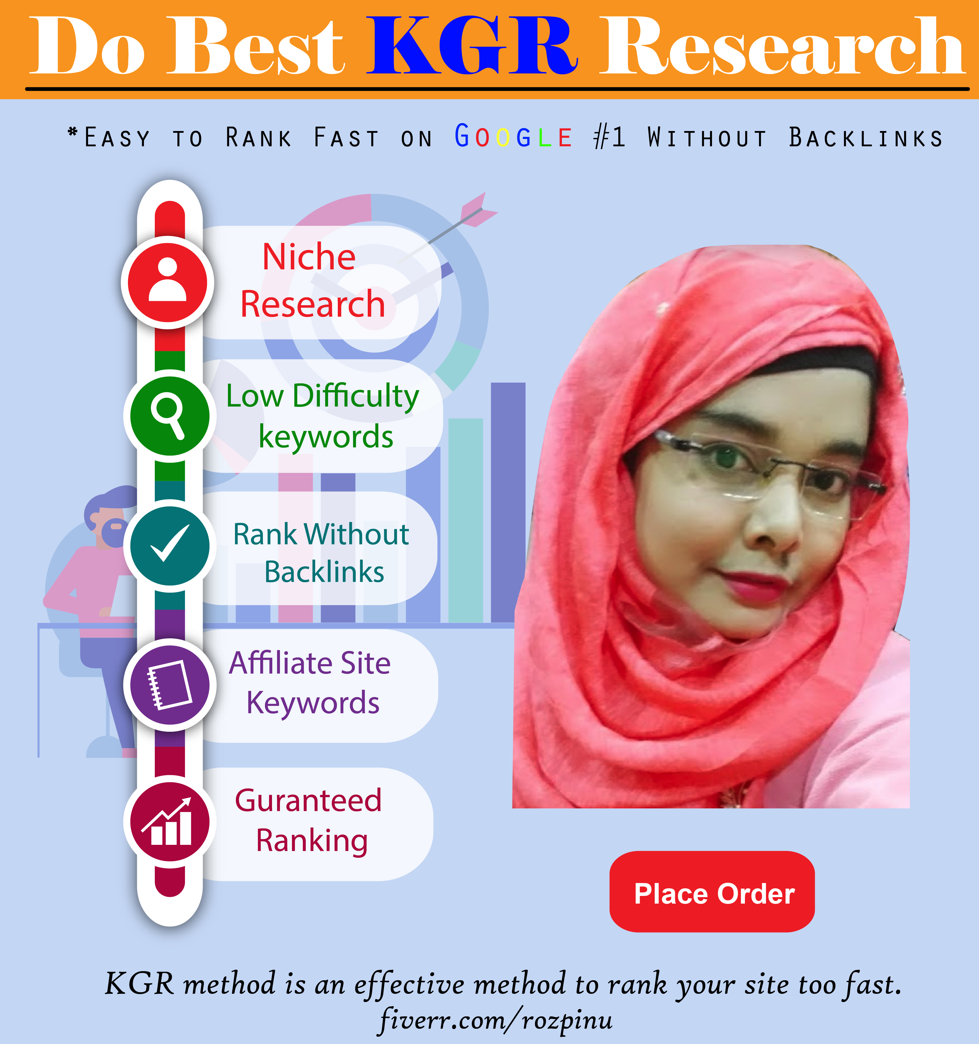 I will find KGR keywords that will rank fast on Google