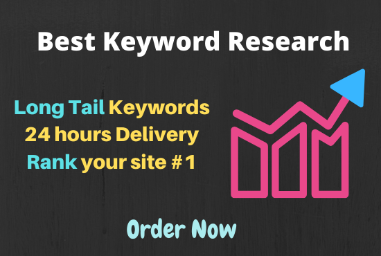 I will find profitable long tail keywords in 24 hours