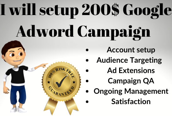 I will Setup 350 Threshold in Google Ads Campaign