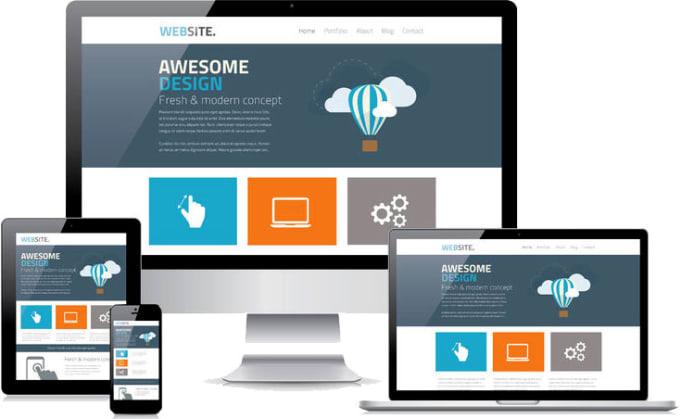 I will be providing a Dynamic Website