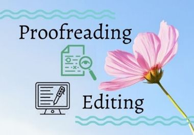I will carefully and quickly proofread and edit your English text or document