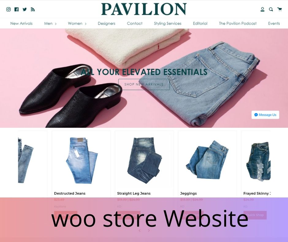 I will create online ecommerce store by woocommerce