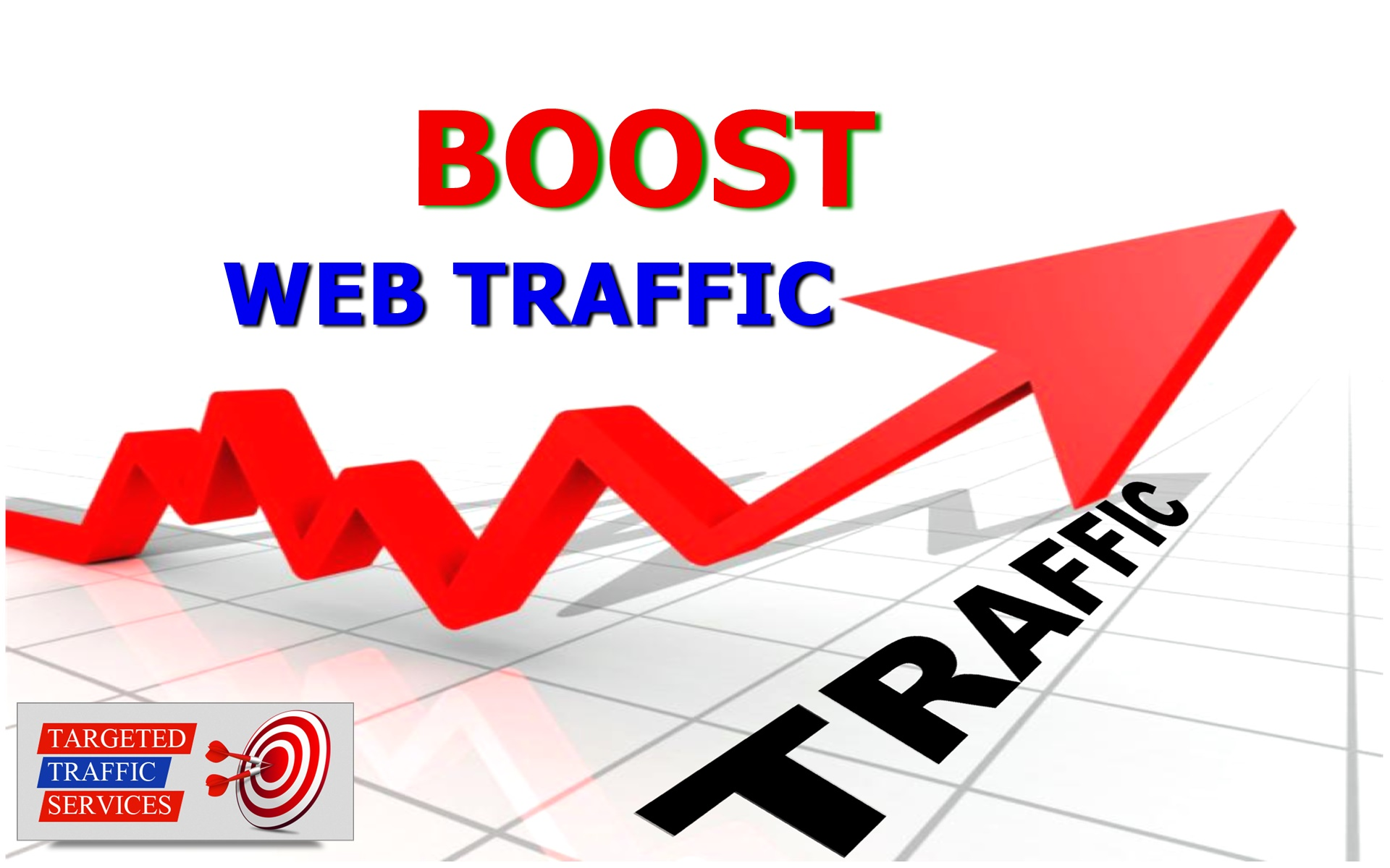 I will increase your website revenue through web traffic