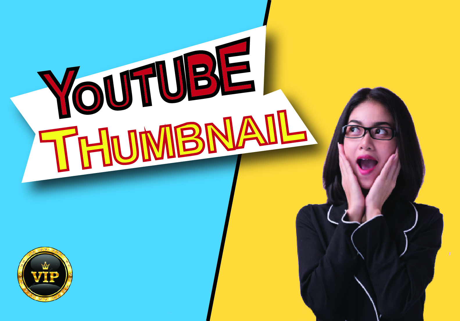 I Will Create Attractive You-tube Thumbnail Design For You
