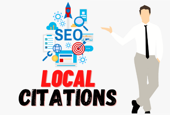 I will do local seo citations or business directory