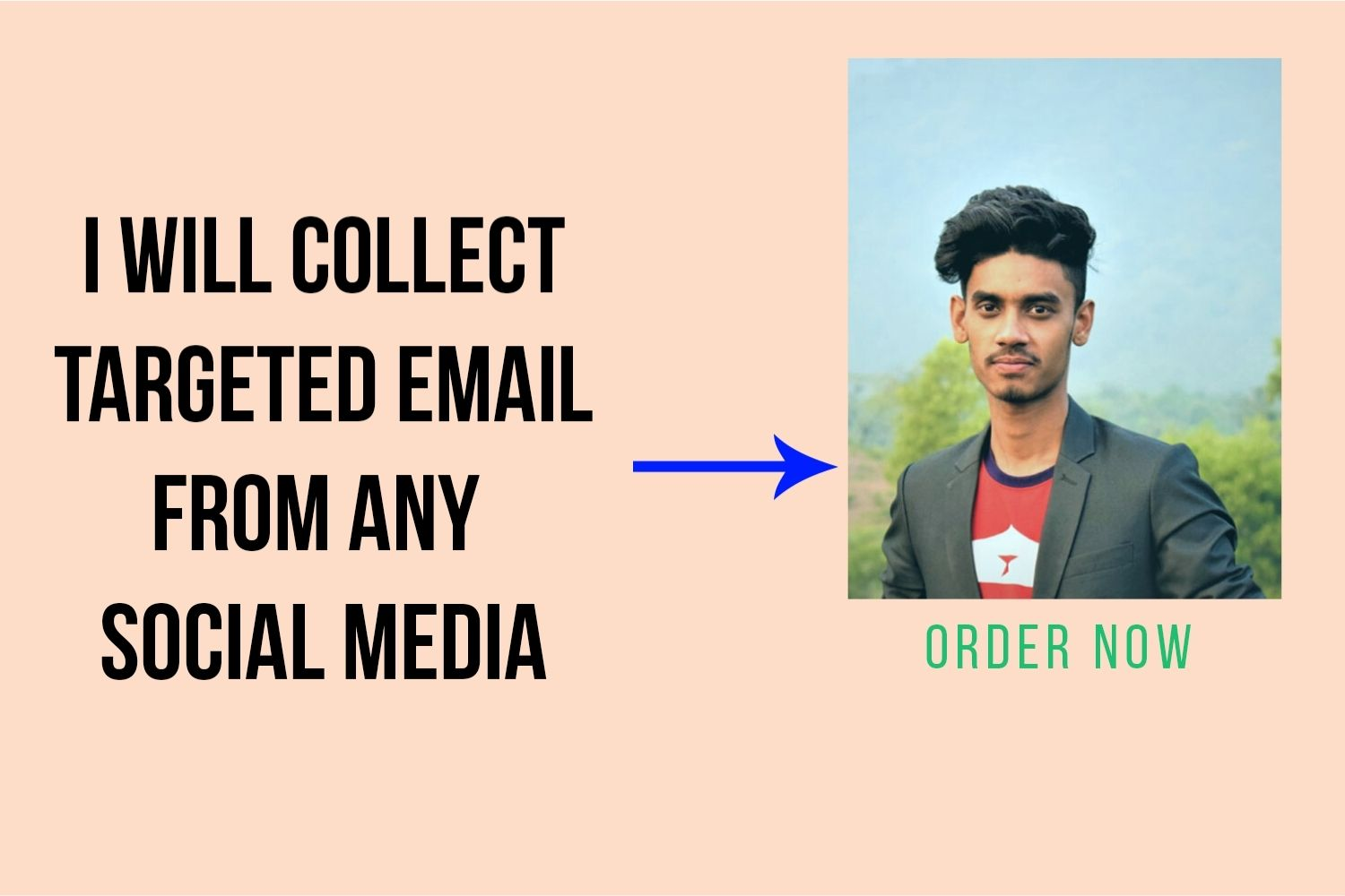 I will collect 3000 active emails from social media or websites