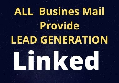 I will do b2b linkedin lead generation and web research