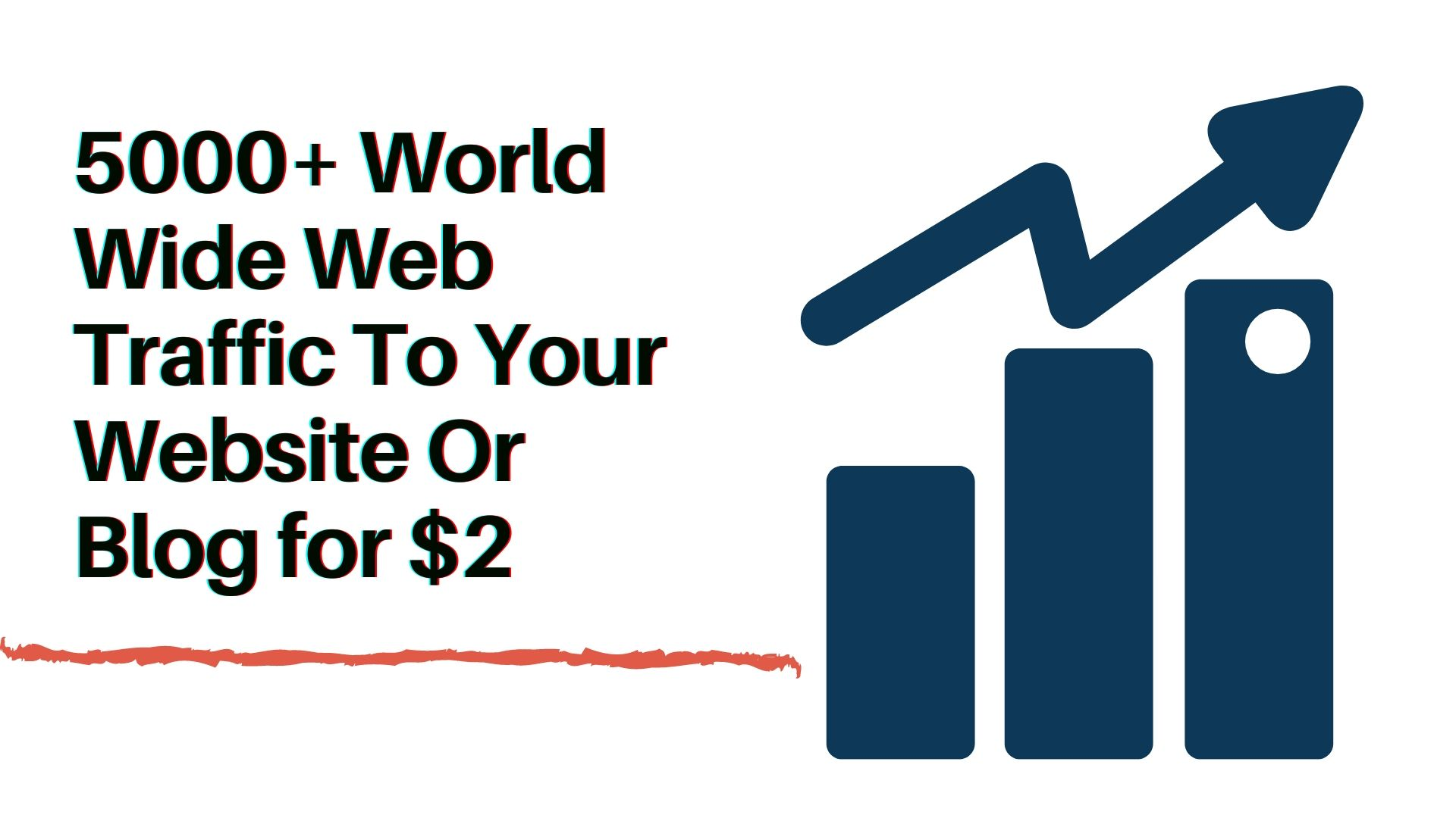 5000 plus World Wide Web Traffic for your website