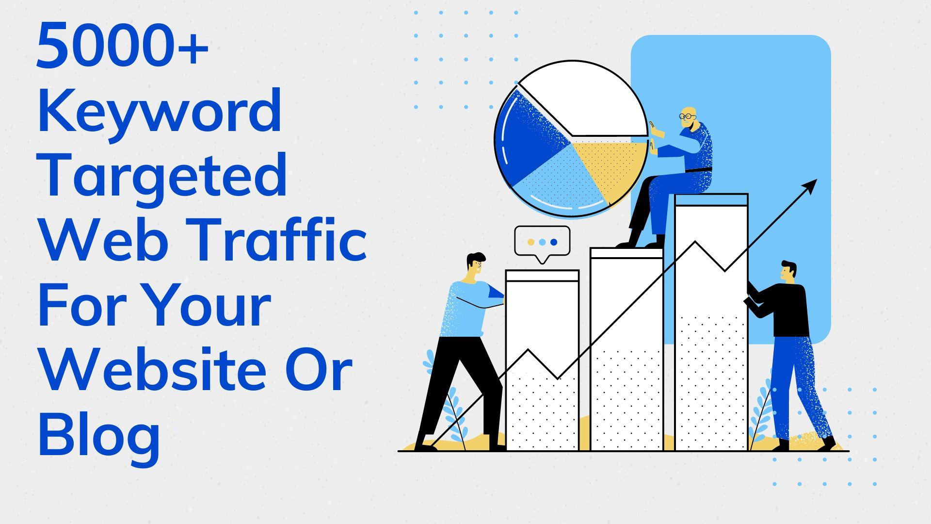 5000+ Keyword Targeted Web Traffic For Your Website Or Blog