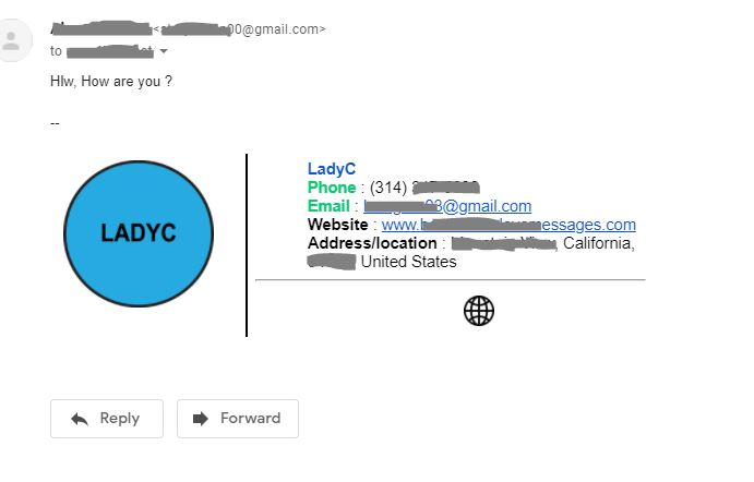 I will make clickable email signature