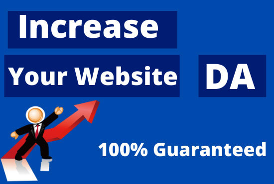 I will increase moz domain authority da 50plus SEO authority backlink