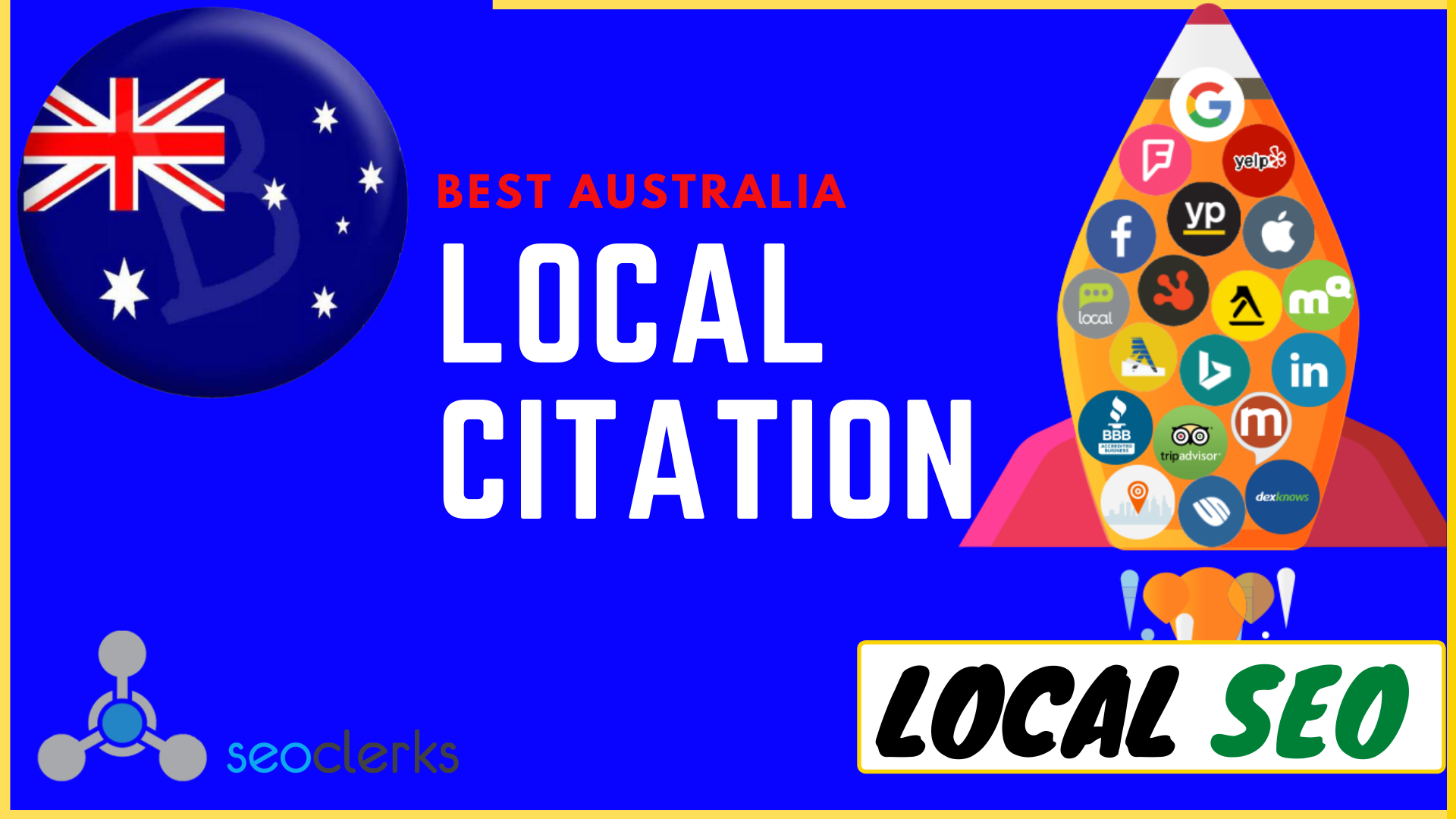 I will create 25 best australia local citations