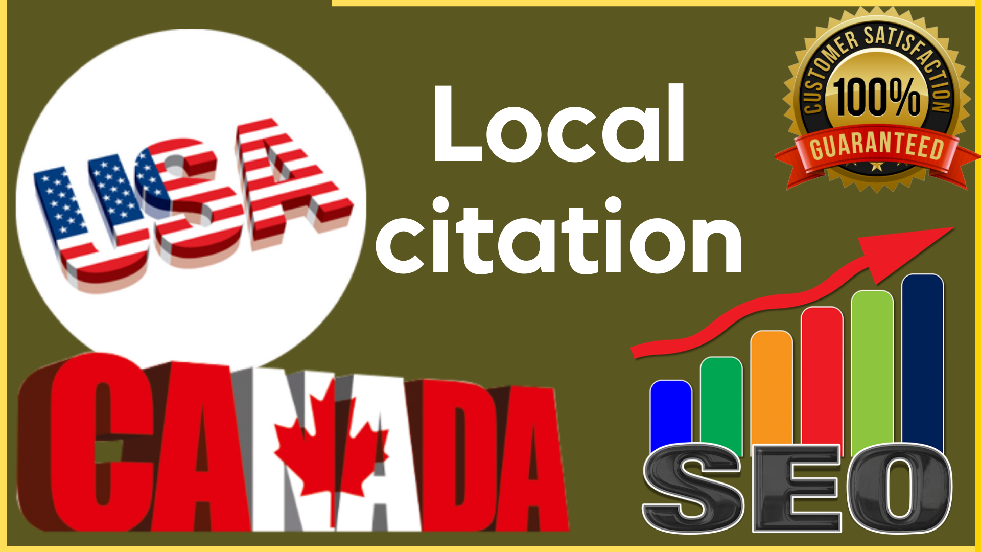 I will do 25 business local citation for USA Canada