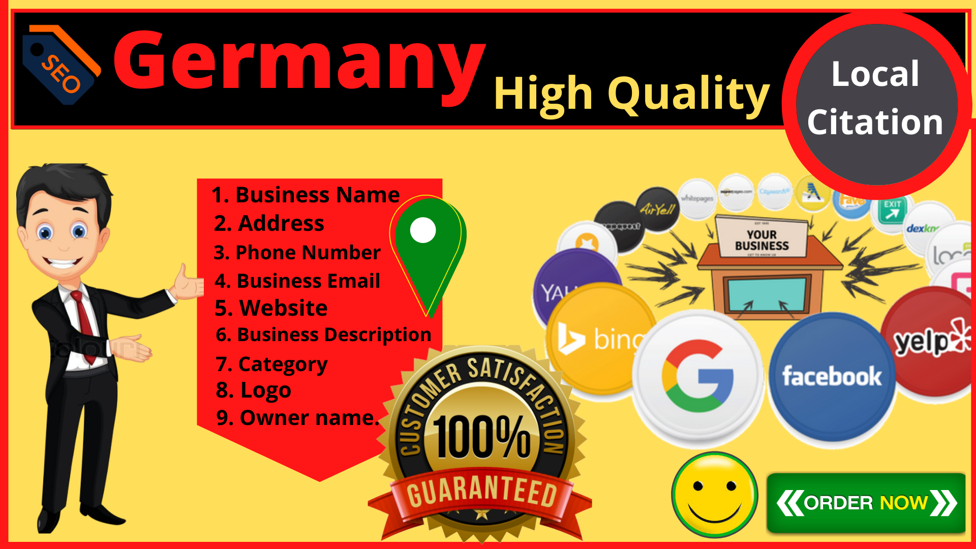 Get Accurate 150 High quality Germany Local Citations