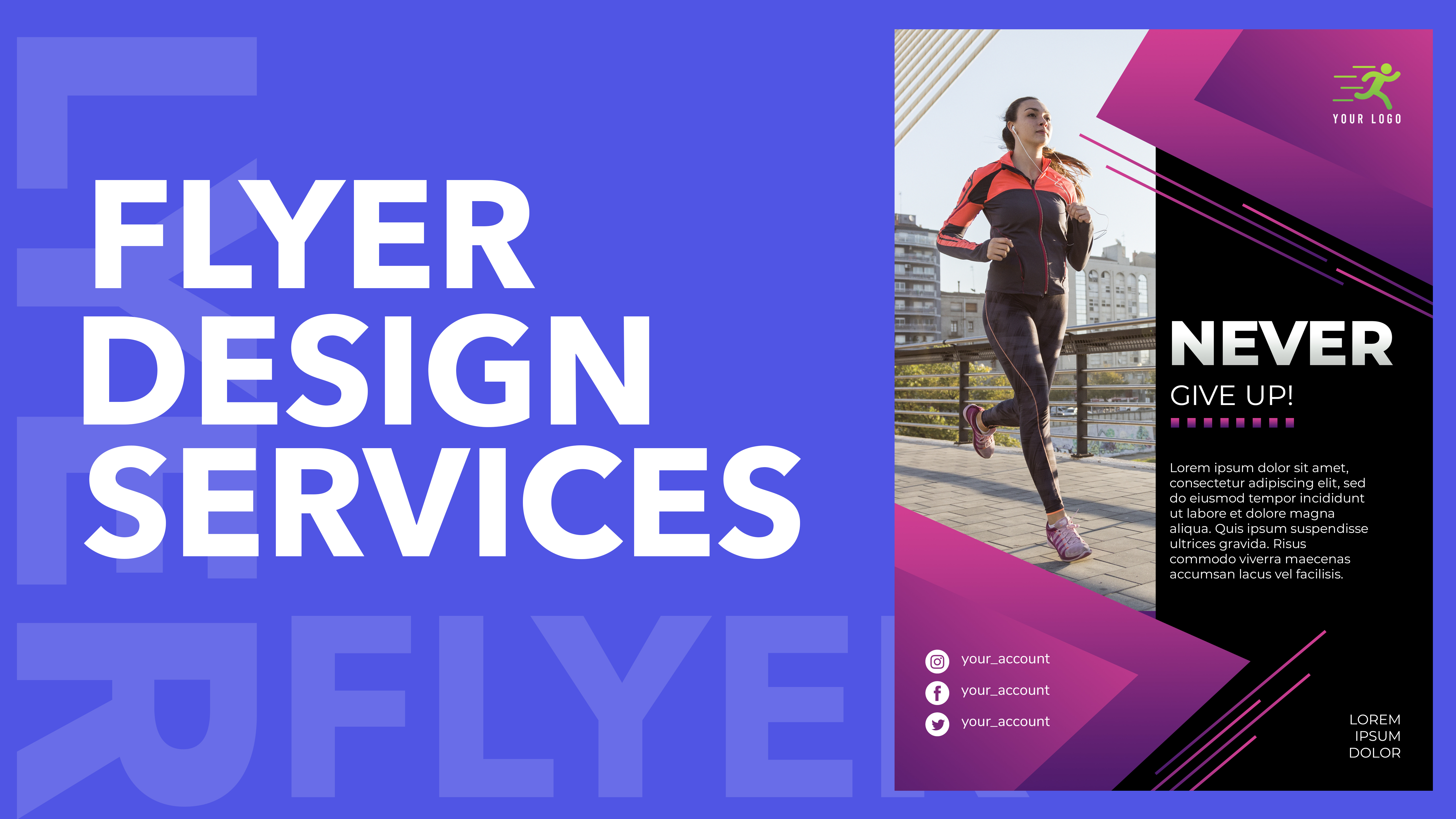 I will design a professional flyer for your business