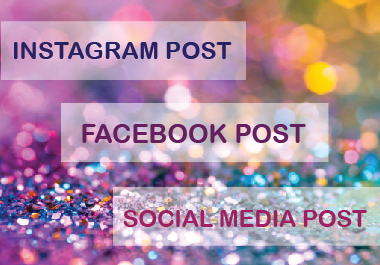 I will create 20 professional Facebook Post or Instagram Post or Social Media Post for you.