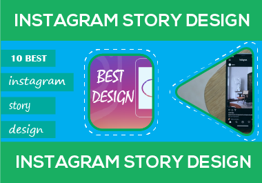 I will design 10 instagram post and story templates