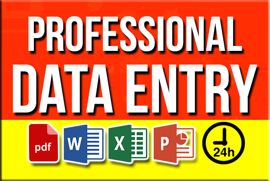 I will do data entry,  web research,  copy paste,  and excel data entry
