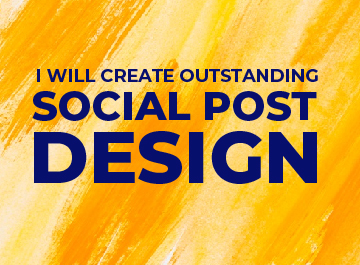 I will create outstanding social post design