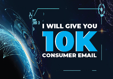 I will give you 10K consumer email