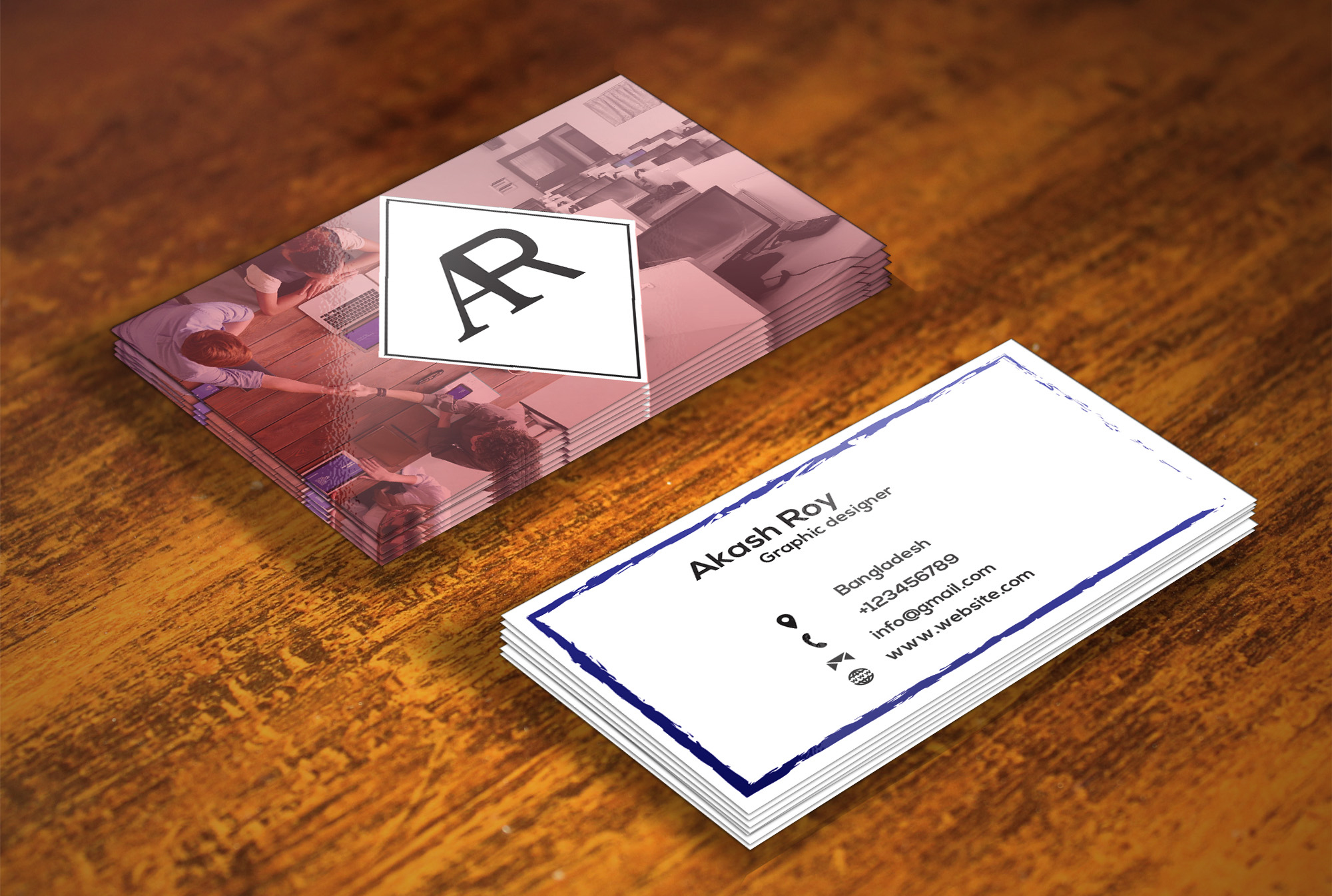 I will design professional business card for You and provide you best work