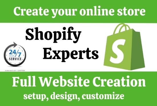 I will setup and customize shopify dropshipping store