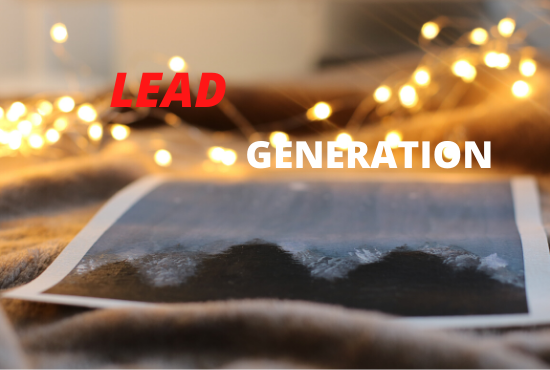 Do lead generation by using linkedin sales navigator