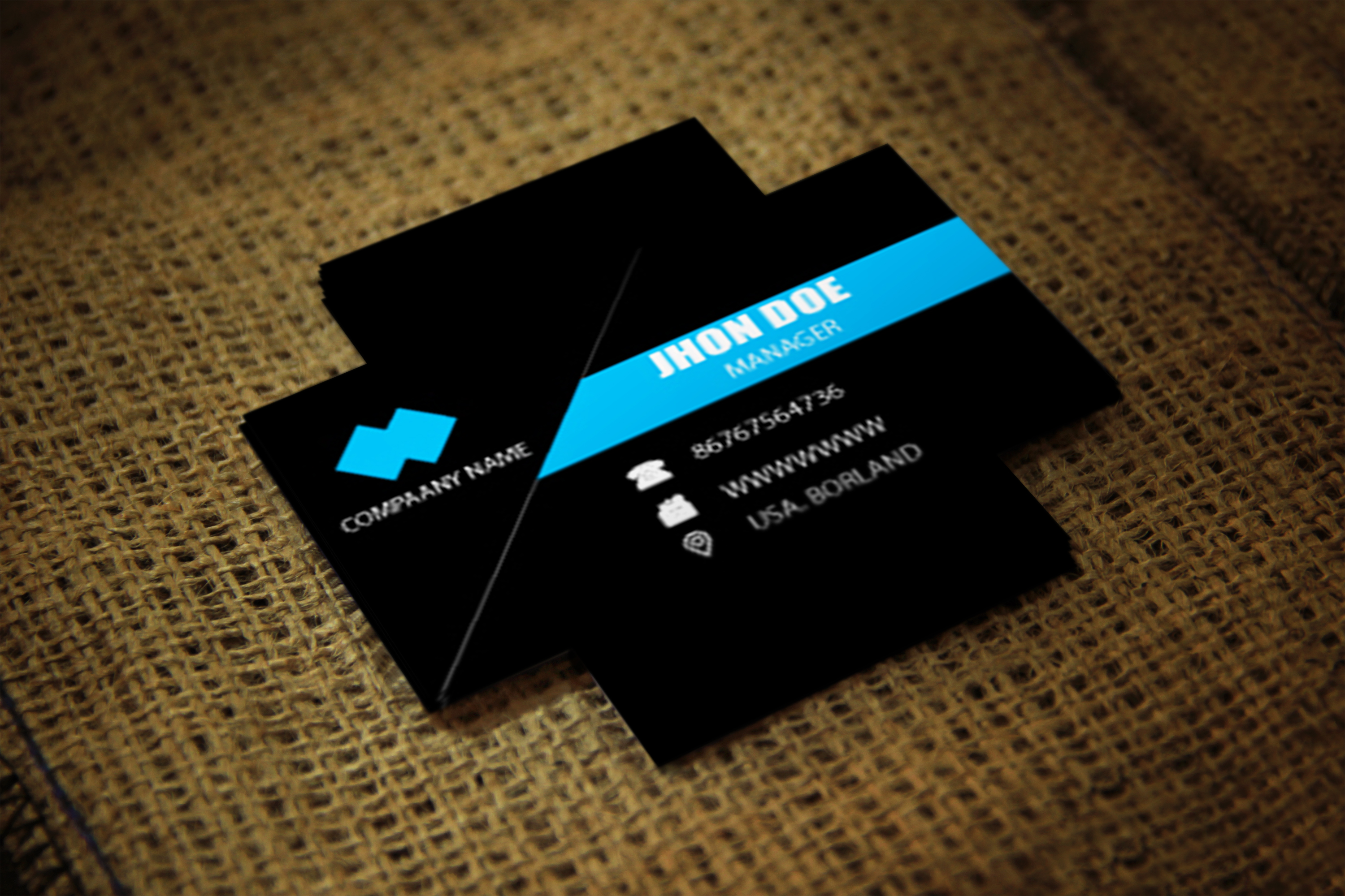 I will design professional amazing business card for your businesss
