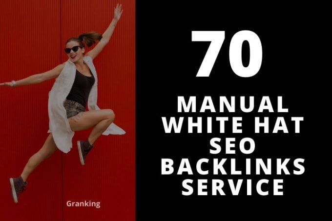 create manual white hat SEO backlinks service