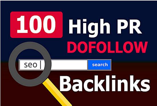 Create pr9 da70 powerful link building backlinks service