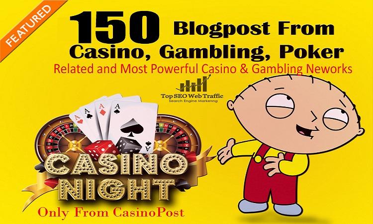 Get 150+ casino/gambling/poker/judi Web 2.0 PBN Dofollow Backlinks DA 50+ PA 40+ Blog