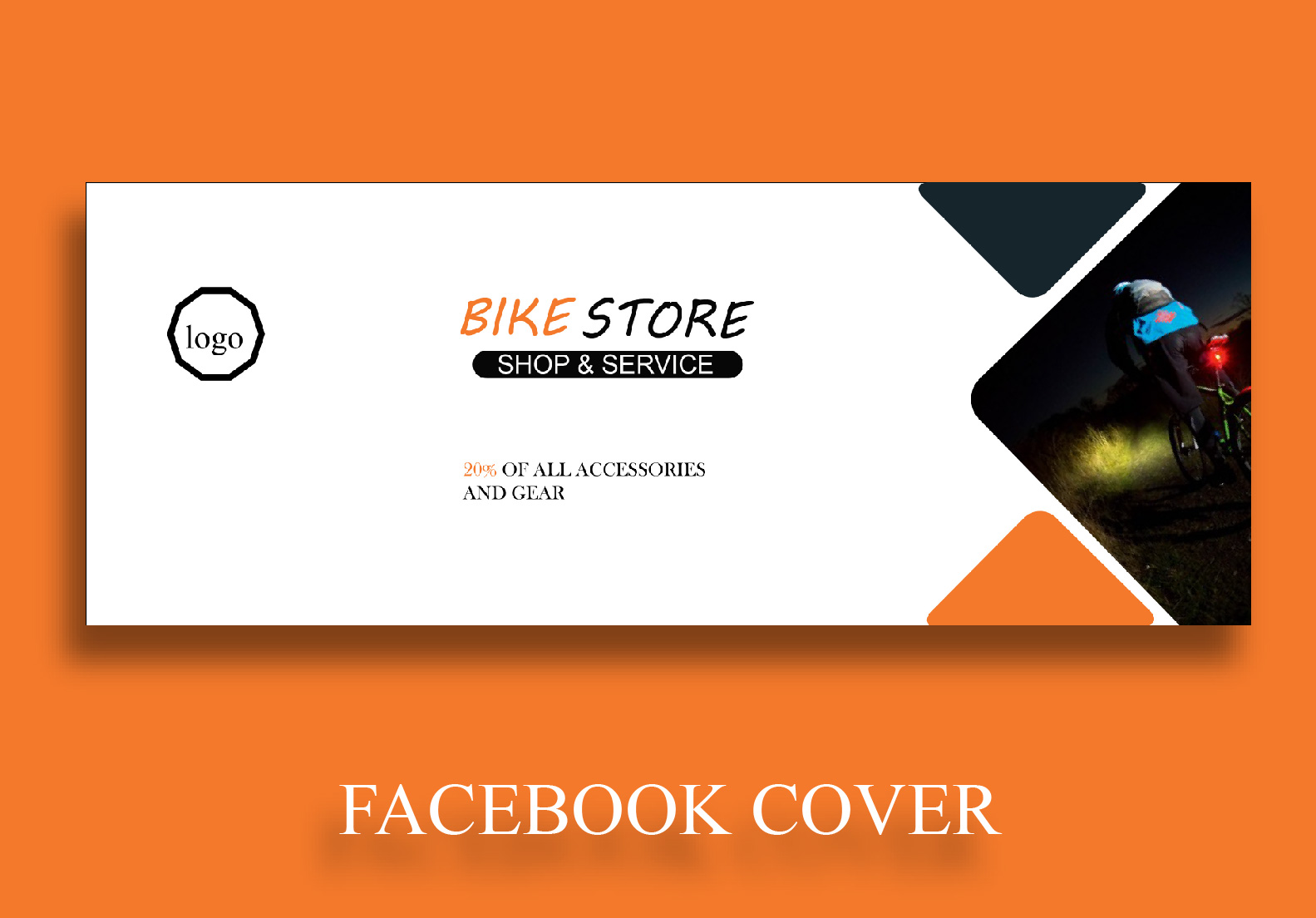 I will design attractive facebook cover photo for you